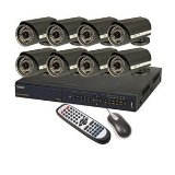 Q-SEE 16-CH 1TB 8-Cameras Security System