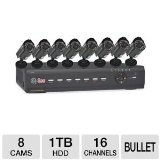 Q-See QT426-811-1R DVR & Cameras Security System