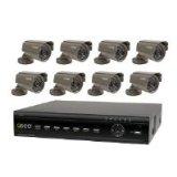 Q-SEE 1TB DVR 8 Camera 16-CH Surveillance System