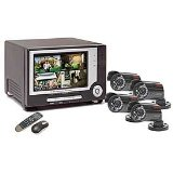 Q-see Monitor, DVR & 4 Camera Security System