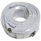Q-See QSVRG100 Shielded Video & Power 100 Feet BNC Male Cable with 2 Female Connectors