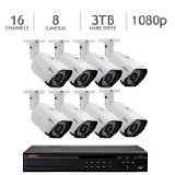 Q-See QC8816-8AU-3 16 Channel HD Digital Security System with 8 4MP HD IP Bullet Cameras