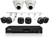 Q-See QC908-8U7-2 8 Channel AnalogHD DVR 2TB Hard Drive and 8 HD 720p AnalogHD Cameras (White)
