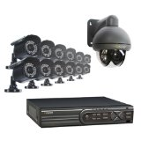Q-See 1 Megapixel Surveillance Camera – 16 Pack – Color QCA7207B
