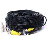 CCTV Security Surveillance Camera 150′ Video Power Cable Q-SEE, Zmodo, SWANN, LOREX